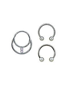 Nose Rings Nose Studs Nose Jewelry Spencer S