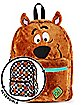 Faux Fur Scooby-Doo Reversible Backpack