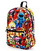 Sesame Street Characters Backpack