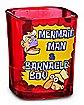 Mermaid Man and Barnacle Boy Square Shot Glass 1.5 oz – SpongeBob SquarePants
