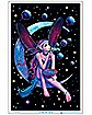 Fairy On The Moon Poster