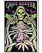 Grim Reefer Blacklight Poster