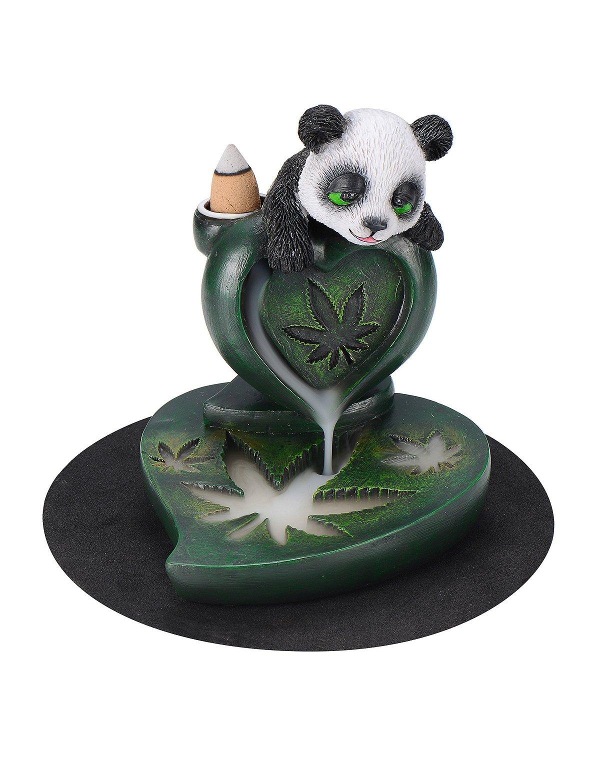 Panda Leaf Incense Burner