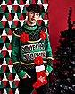 Light-Up Raglan Stuff My Stocking Ugly Christmas Sweater