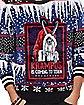 Light-Up Krampus Fair Isle Ugly Christmas Sweater