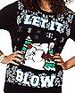 Light-Up Let It Blow Ugly Christmas Sweater