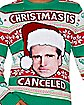 Light Up Christmas Is Cancelled Ugly Christmas Sweater - The Office
