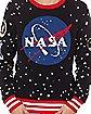 Light-Up NASA Ugly Christmas Sweater