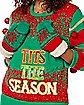 Light-Up Tits the Season Ugly Christmas Sweater