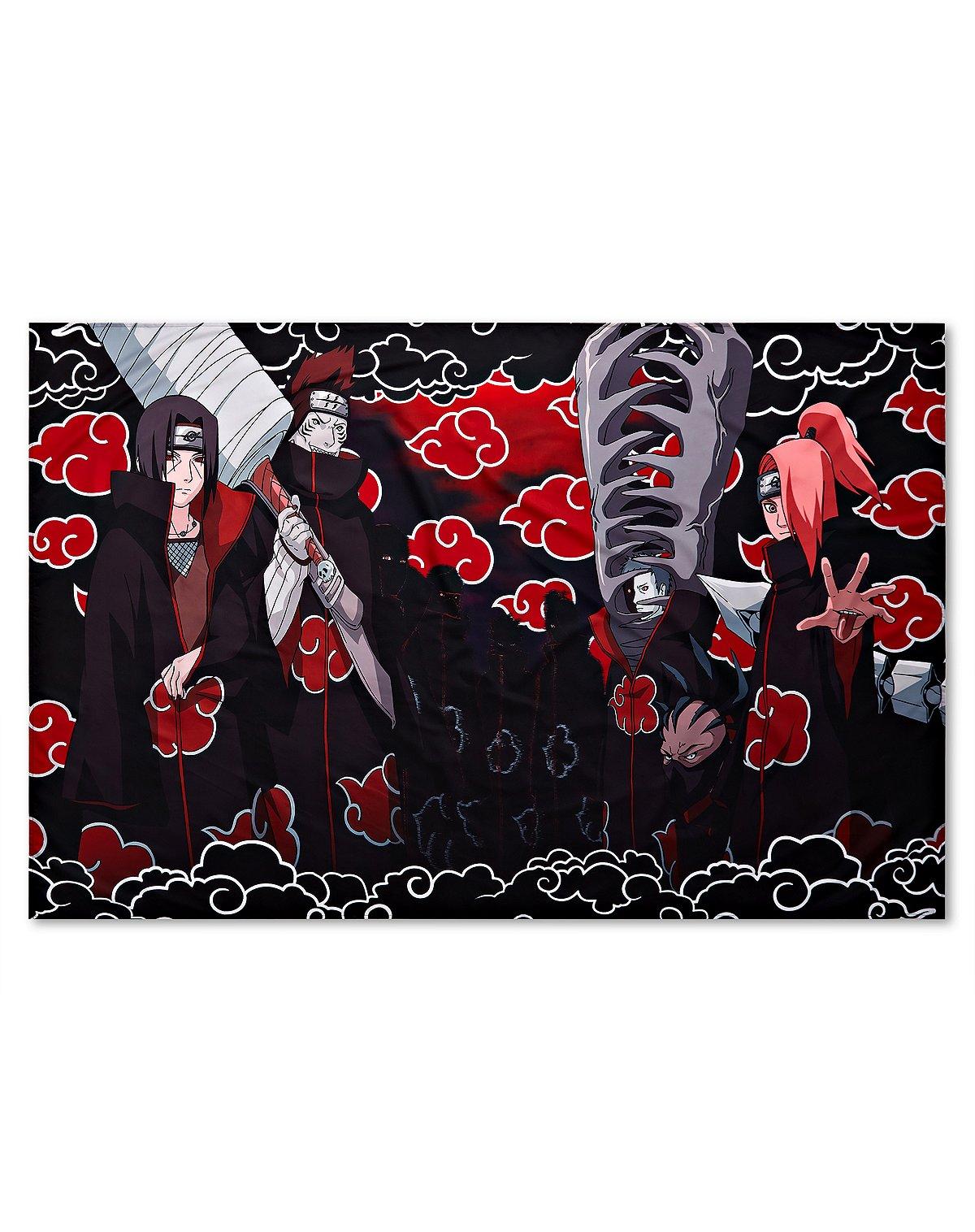 Naruto Characters Tapestry