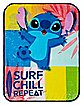 Surf Stitch Fleece Blanket – Disney