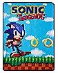 Sonic the Hedgehog Fleece Blanket
