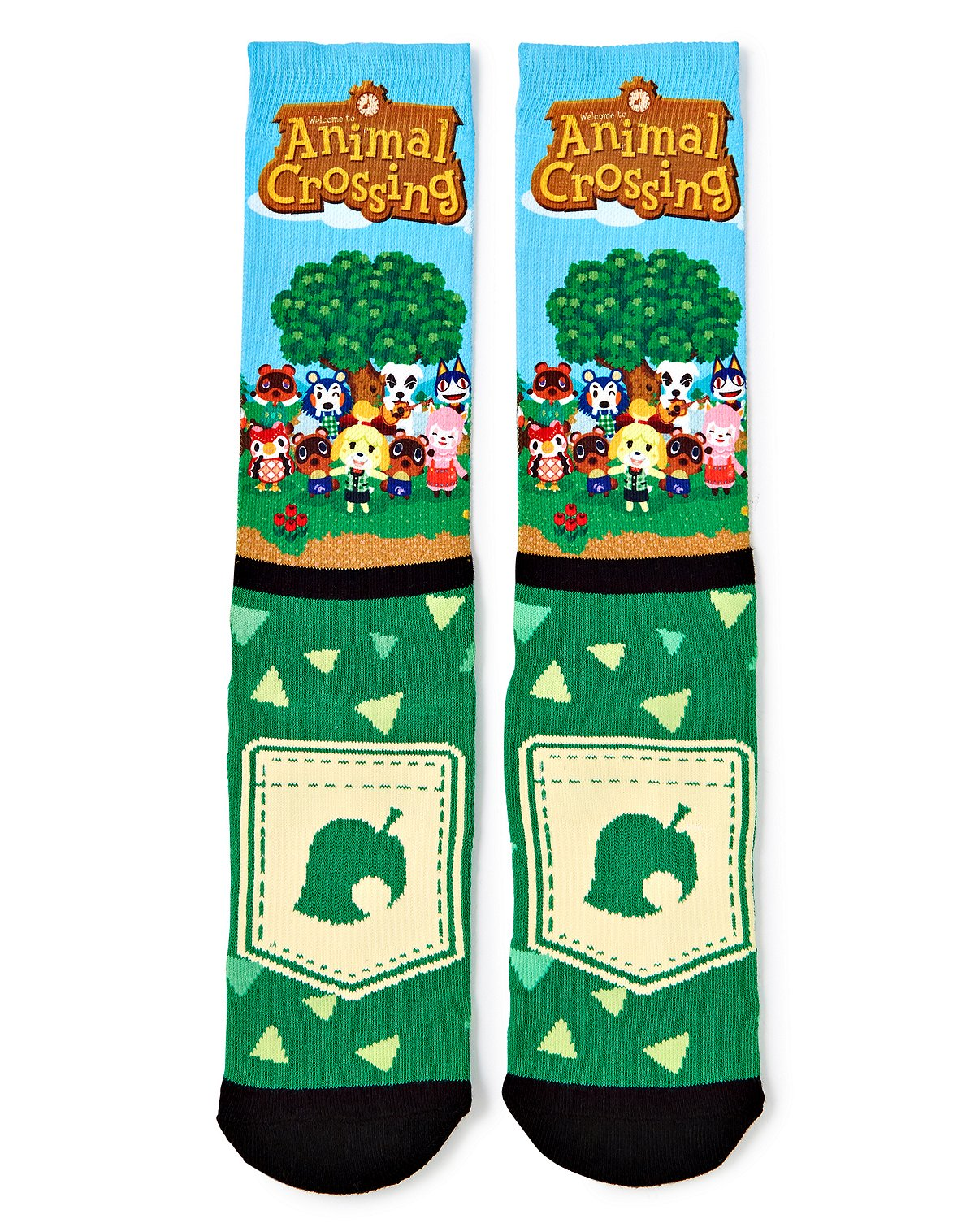 Animal Crossing Socks