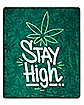 Stay High Fleece Blanket