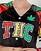 Tie Dye THC Crop Top