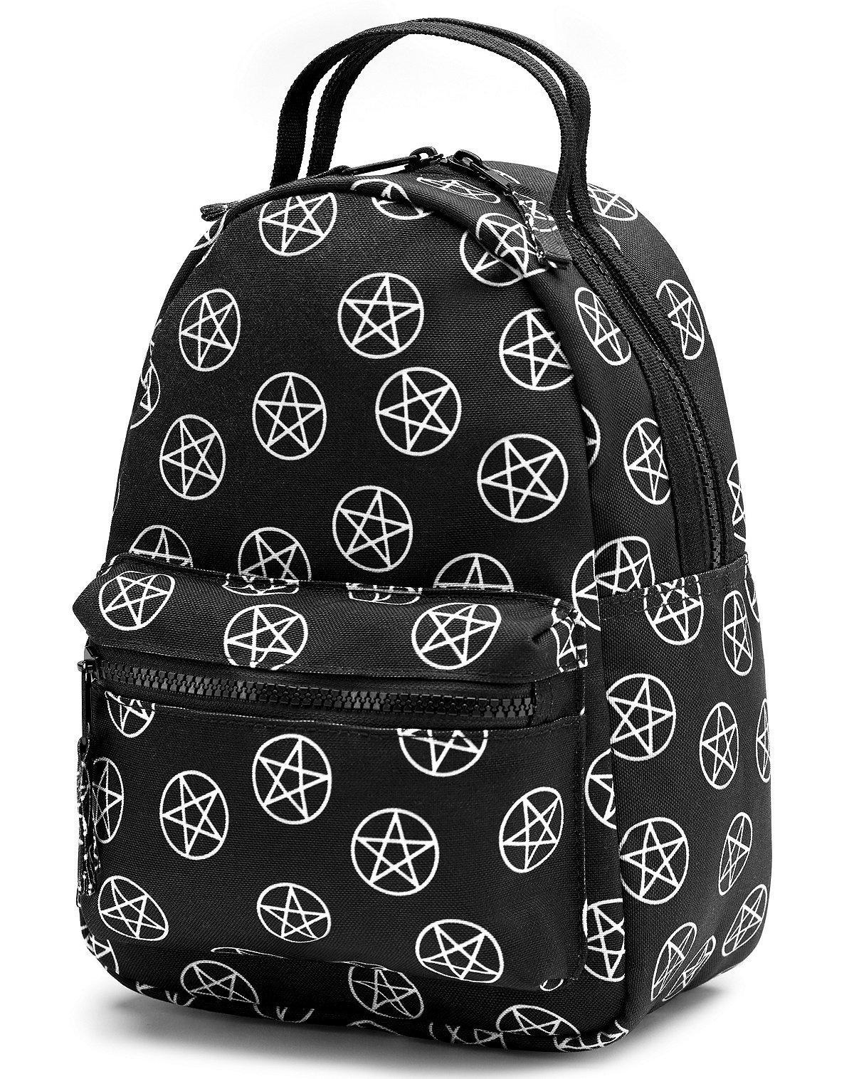 Pentagram Print Mini Backpack