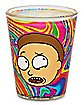 Tie Dye Rick and Morty Shot Glass - 2 oz.