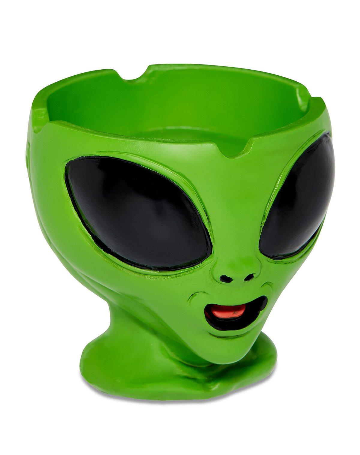 Alien Head Molded Ashtray