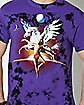 Tie Dye Pegasus T Shirt - Trippie Redd