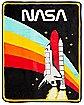 NASA Fleece Blanket