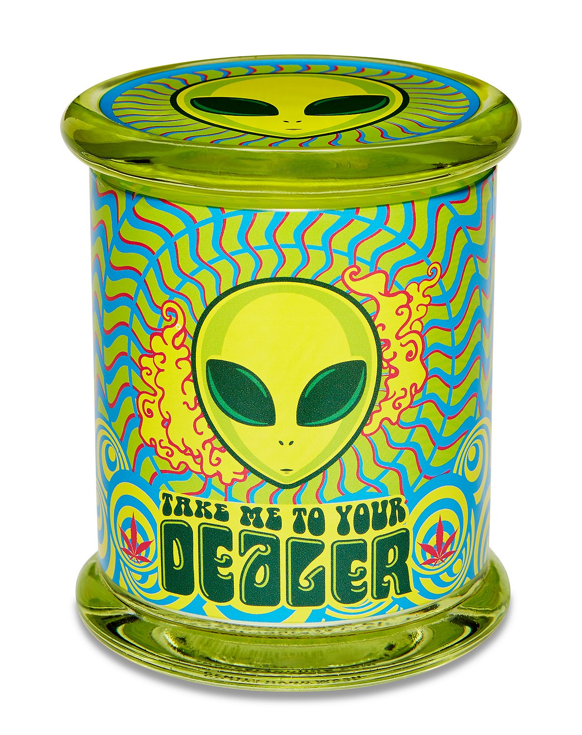 Take Me to Your Dealer Storage Jar