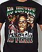 No Justice No Peace Malcolm X T Shirt