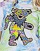 Tie Dye Dancing Bear T Shirt - Grateful Dead