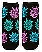 Rick and Morty Socks - 5 Pair