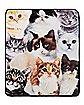 Cat Collage Fleece Blanket