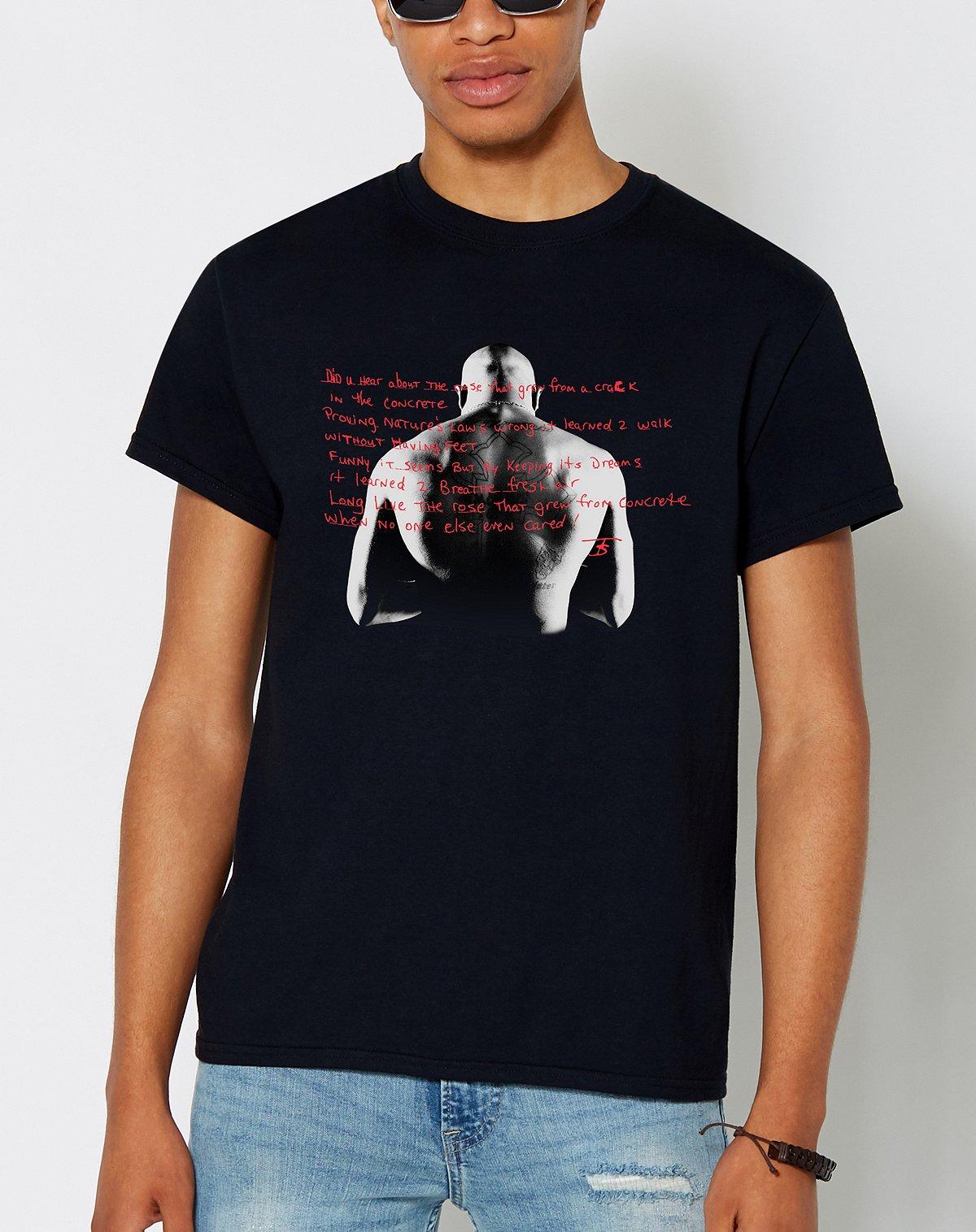 Tupac Poem T Shirt