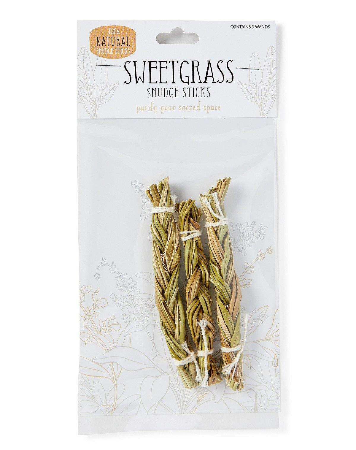 Sweetgrass Smudge Sticks - 3 Pack