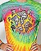 Tie Dye Floating Mushrooms T Shirt