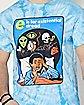 E is for Existential Dread T Shirt - Steven Rhodes