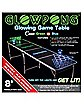 Glowing Green vs Blue Beer Pong Table - 8 ft.