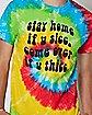 Tie Dye Sicc Thicc T Shirt