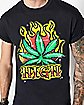 High Leaf Airbrush T Shirt