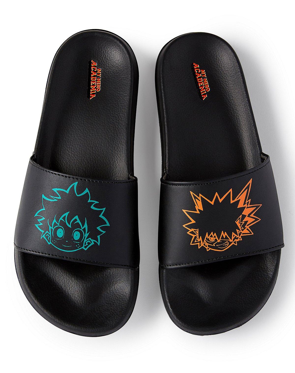 Deku and Bakugo Slides