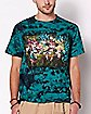 Tie Dye We Are All In T Shirt - Big Chris Art