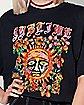 Sublime Flower Crop Top T Shirt
