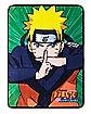 Fight Pose Naruto Fleece Blanket