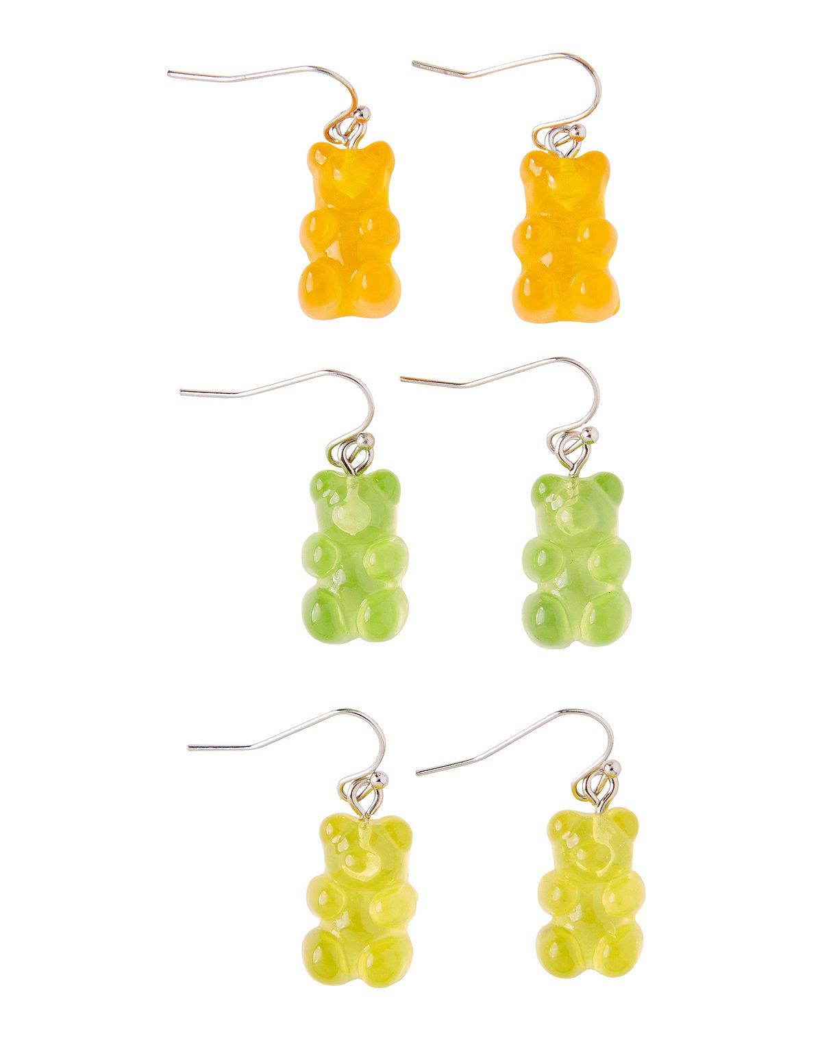 Gummy Bear Dangle Earrings