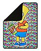 Bart Simpson Fleece Blanket - The Simpsons