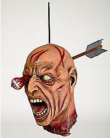 Arrow Thru Head Hanging Prop - Decorations