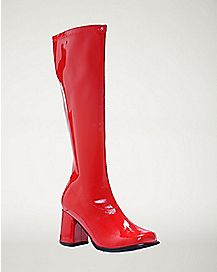 Red Go Go Boots