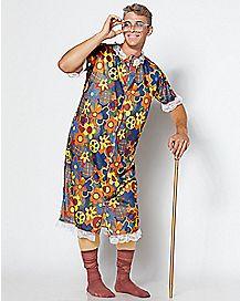 Adult Gropin Granny Costume