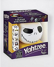 nightmare before christmas travel size yahtzee game