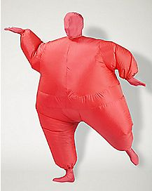 Adult Blimpz Red Inflatable Costume