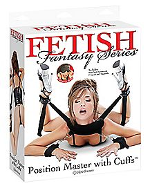 Position Master With Handcuffs - Fetish Fantasy