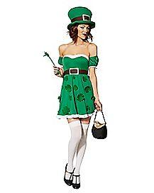 Adult Spank Me I'm Irish Costume