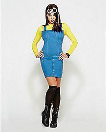Adult Minion Dress Costume - Despicable Me 2